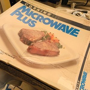 Corning microwave plus cookware for the microwave
